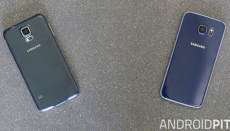 Galaxy S5 vs. Galaxy S6: um abismo entre gerações