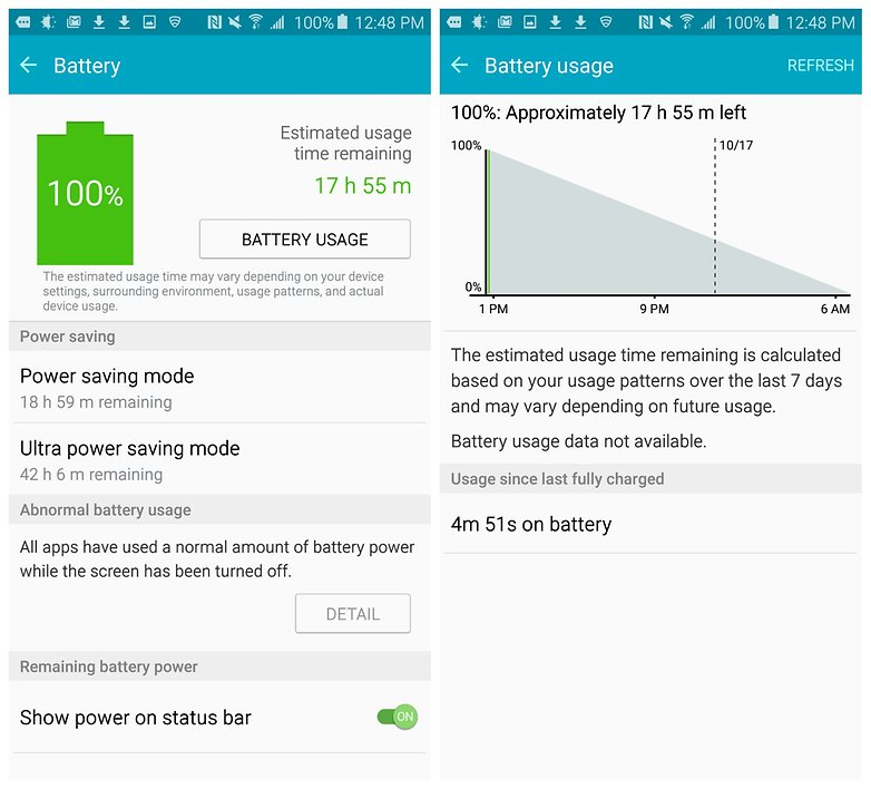 androidpit galaxy note 5 battery test full