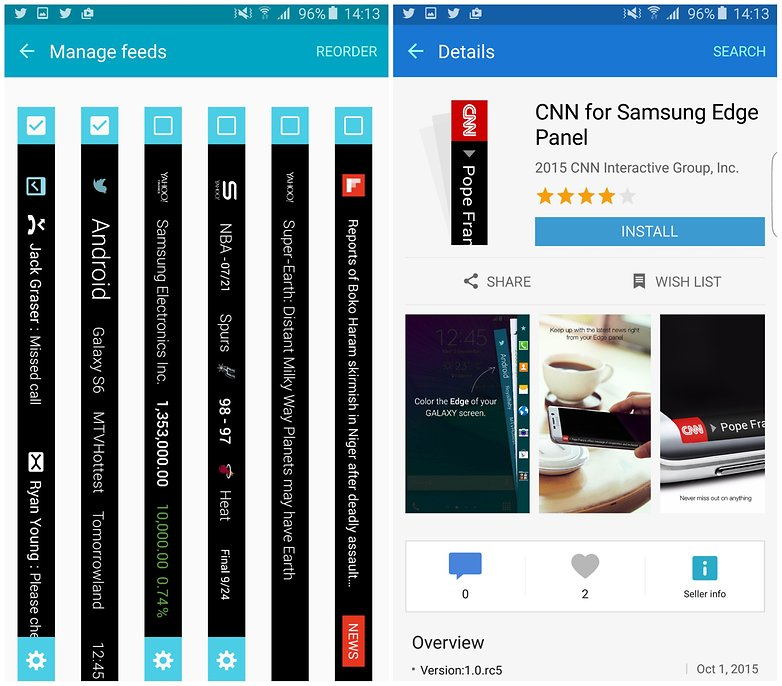 androidpit samsung galaxy s6 edge plus manage feeds