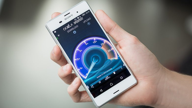 androidpit sony xperia z3 speed test