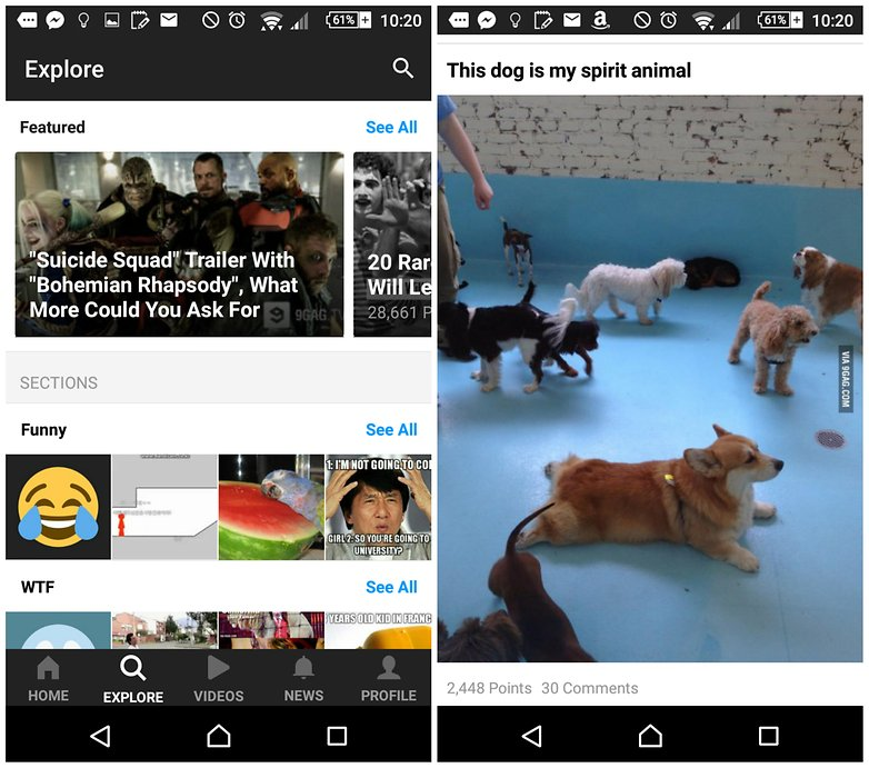 androidpit 9gag apps to make you