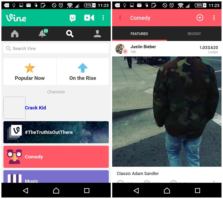 androidpit apps to make you lol vine