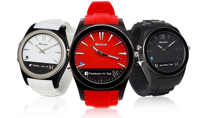 Deal: Martian Notifier Smartwatch - just $35.99