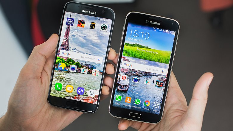 androidpit galaxy s5 vs galaxy s7 hero2