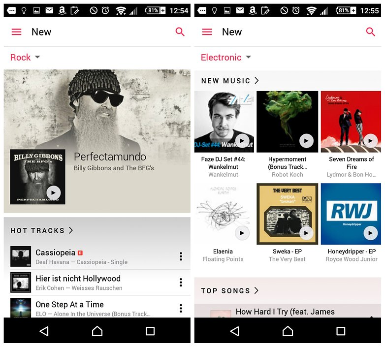 The best music streaming apps for Android | AndroidPIT