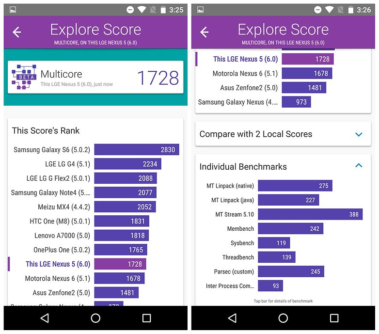 androidpit nexus 5 marshmallow performance 2