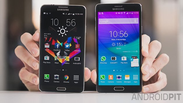androidpit galaxy note 4 vs galaxy note 3 1