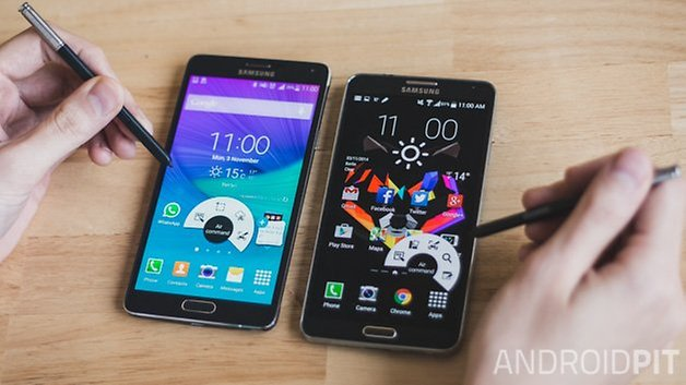 androidpit galaxy note 4 vs galaxy note 3 13