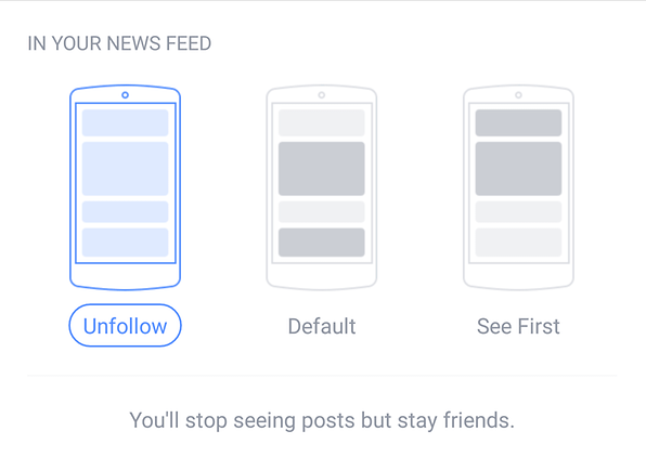 androidpit facebook tips saved friends feed unfollow