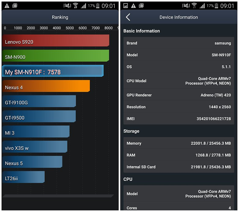 androidpit galaxy note 4 battery test antutu 1