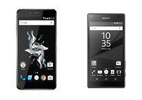 OnePlus X vs Xperia Z5 Compact comparison: small change