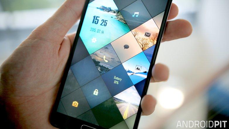 androidpit album locker app theme