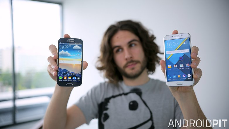 androidpit galaxy s4 galaxy s6 edge