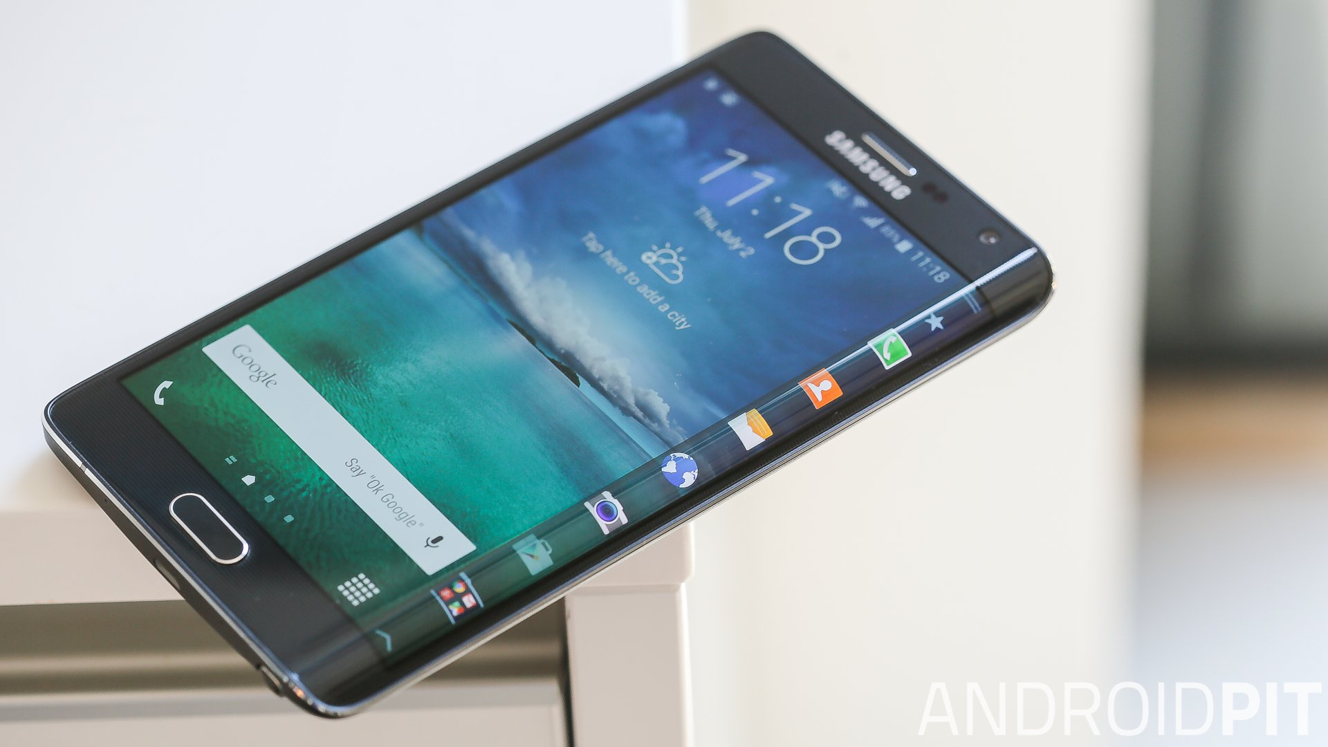 Androidpit Samsung Galaxy Note Edge Review Is This The Best Phablet You Can Buy