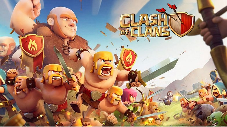 androidpit clash of clans hero image