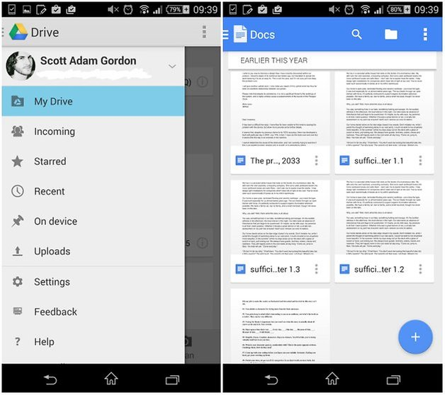 androidpit drive docs material design