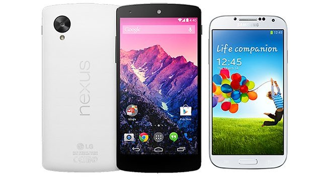 androidpit galaxy s4 vs nexus 6