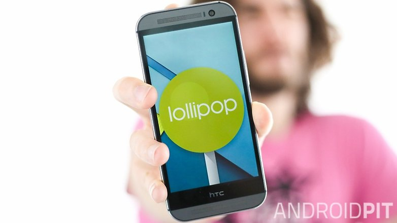 androidpit htc one m8 lollipop
