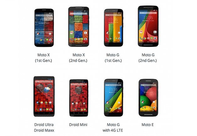 androidpit motorola update page