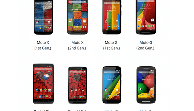 Motorola website adds Android 5.0 Lollipop update page: find out when your device will get it