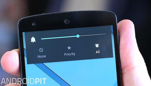 Cómo poner en modo silencio tu smartphone con Android Lollipop