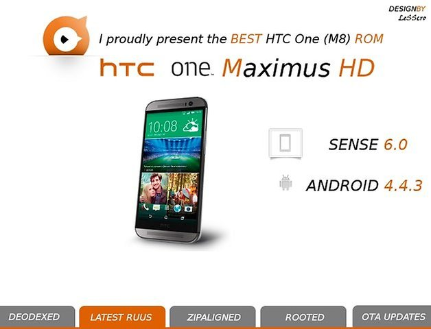 androidpit htc one m8 maximus rom