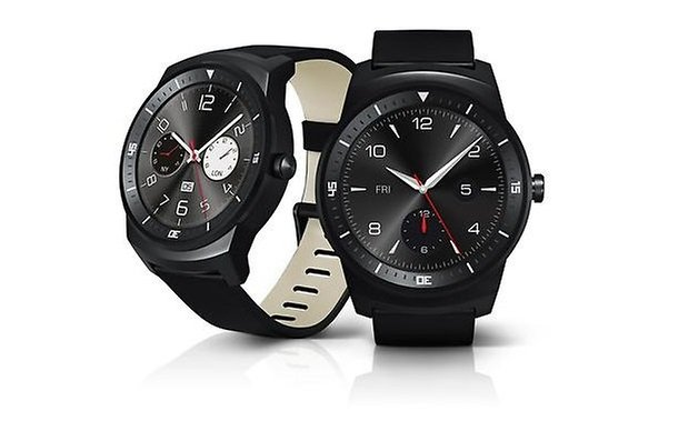 androidpit lg g watch r front side