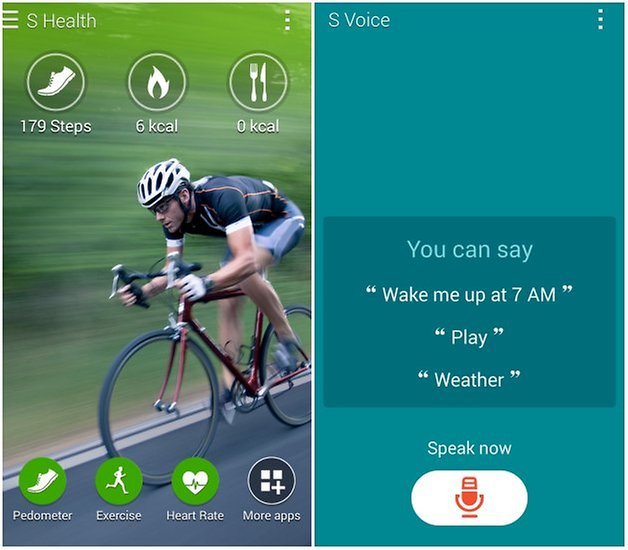 androidpit s voice s health galaxy alpha