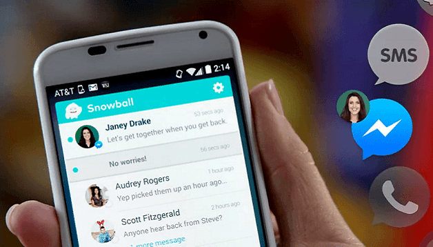 How to get all of your messages in one place with Snowball