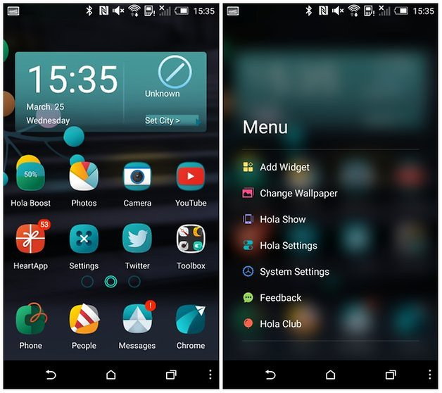 androidpit hola launcher
