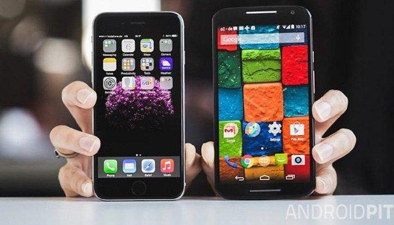 Motorola Moto X (2014) vs iPhone 6 comparison: American flagships do battle