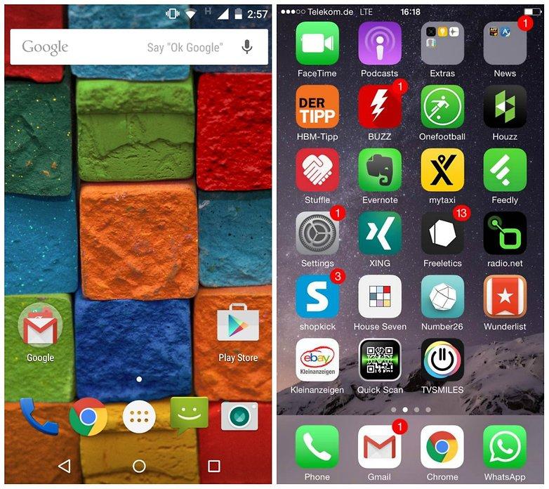 Motorola Moto X (2014) vs iPhone 6 comparison: American ...