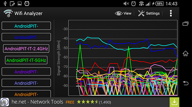 androidpit wifi analyzer screenshot