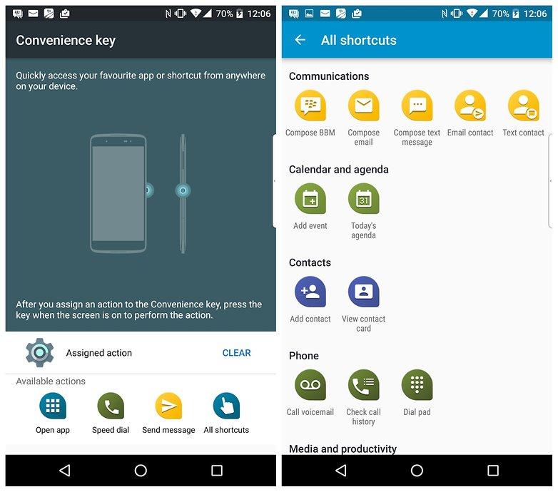 androidpit dtek 50 convenience key
