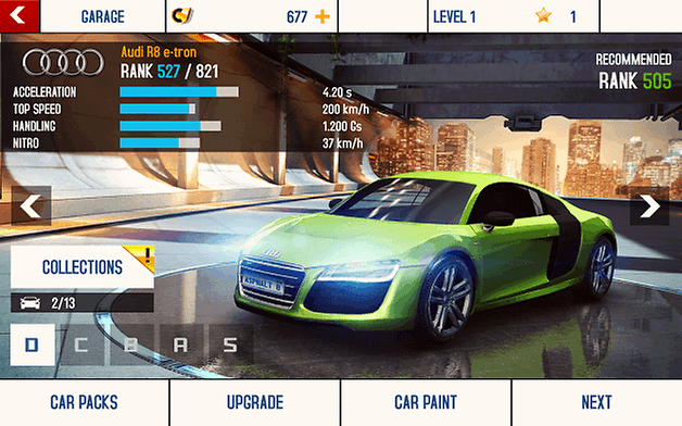 asphalt eight screenshot four