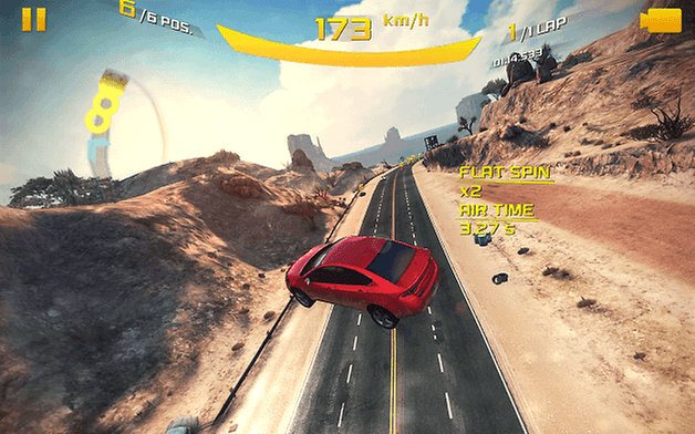asphalt eight screenshot two