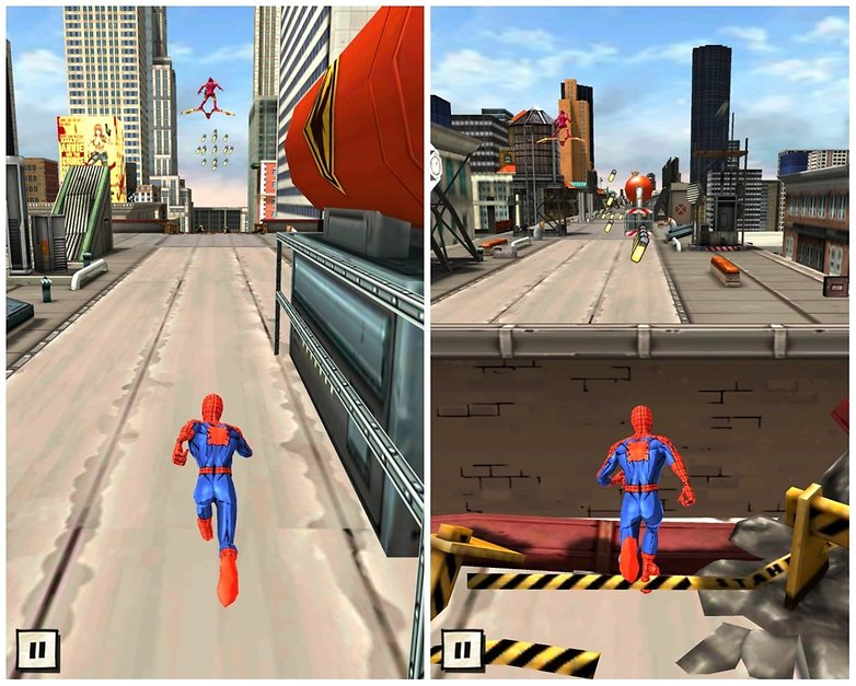 androidpit amazing spiderman best endless runners 3
