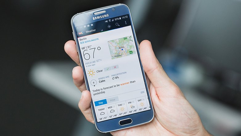 androidpit weather app 3