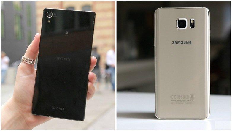 Xperia Z5 Premium Vs Galaxy Note 5 Qual 233 O Melhor