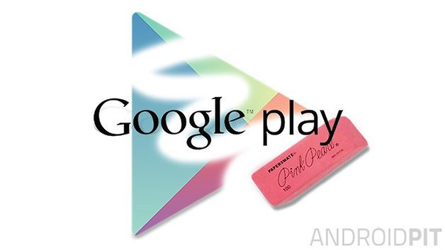 google play eraser