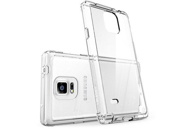 androidpit galaxy note 4 hybrid clear case