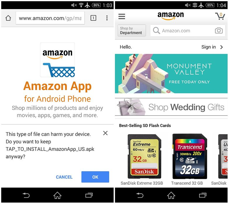 androidpit amazon app store screenshot