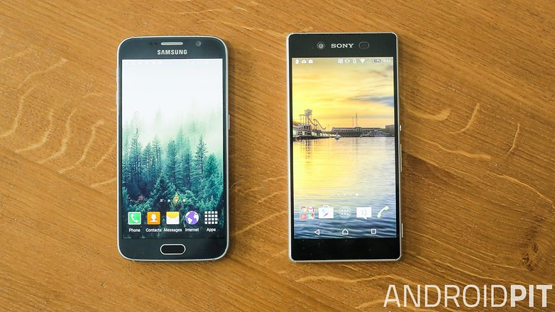 androidpit galaxy s6 vs xperia z3 plus comparison 1