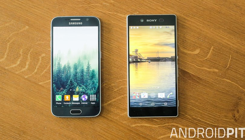 Galaxy S6 vs Xperia Z3+ comparison: hot competition