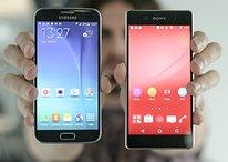 Sony Xperia Z3+ vs Samsung Galaxy S6 - Comparación de dos grandes