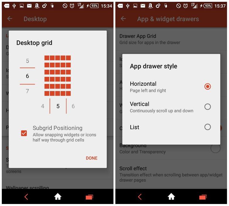 androidpit nova launcher customizations