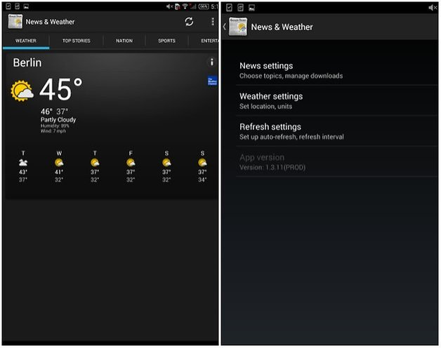 androidpit xperia z3 tablet compact widgets