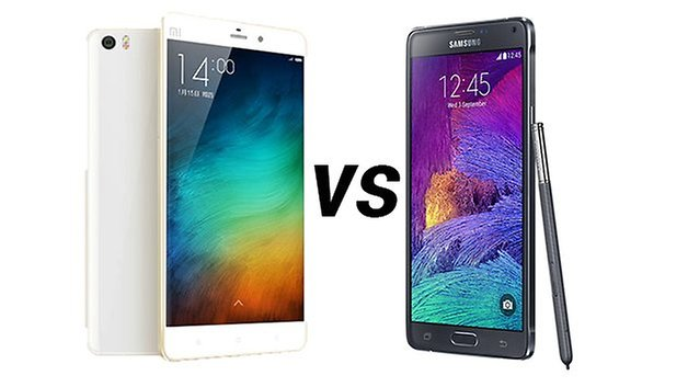 Samsung Galaxy Note 4 vs MI note 4 ANDROIDPIT