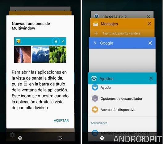 Android Lollipop en el Samsung Galaxy S5