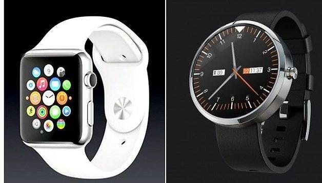 So klein ist die Apple Watch wirklich: Sind Android-Uhren zu groß?